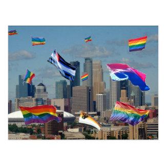 Orgullo de Minneapolis Postales