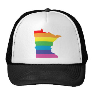 orgullo de Minnesota Gorras De Camionero