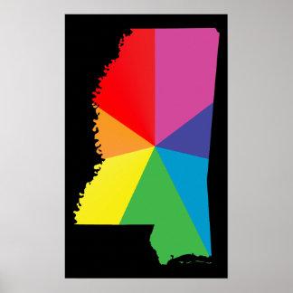 orgullo de Mississippi Impresiones