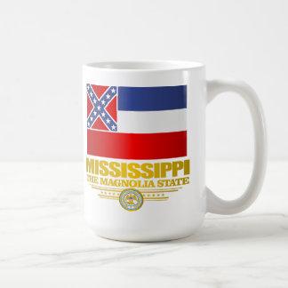Orgullo de Mississippi Taza Básica Blanca
