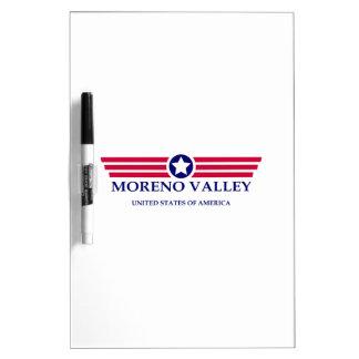 Orgullo de Moreno Valley Tableros Blancos