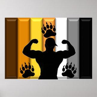 Orgullo de Musclebear Posters