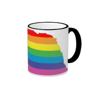 orgullo de Nebraska Tazas De Café
