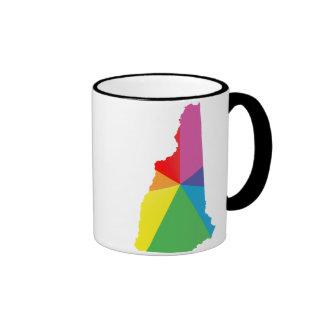 orgullo de New Hampshire Tazas De Café