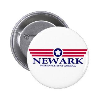 Orgullo de Newark NJ Pin Redondo 5 Cm