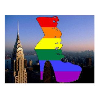 Orgullo de Nueva York Tarjeta Postal