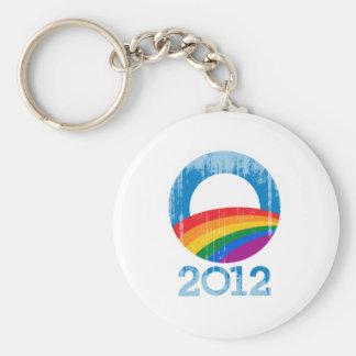 Orgullo de Obama 2012 Vintage.png Llaveros