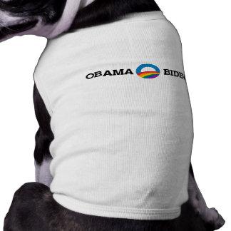 Orgullo de Obama Biden 2012 - Ropa Perro