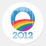 Orgullo de Obama Etiqueta