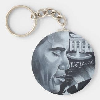 Orgullo de Obama Llavero