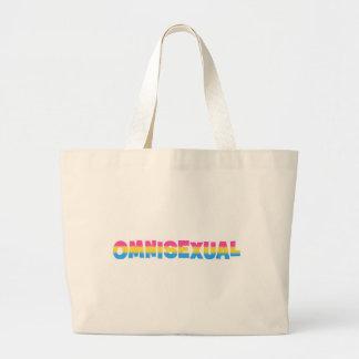 Orgullo de Omnisexual Bolsas De Mano