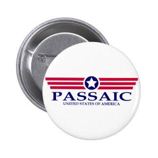 Orgullo de Passaic Pin Redondo 5 Cm