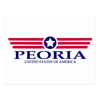 Orgullo de Peoria AZ Tarjeta Postal