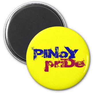 Orgullo de Pinoy Imán Redondo 5 Cm
