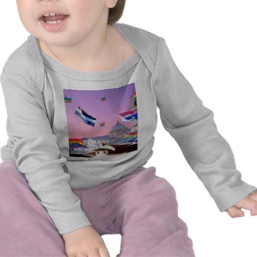Orgullo de Pisa, Italia Camisetas