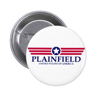 Orgullo de Plainfield NJ Pin Redondo 5 Cm