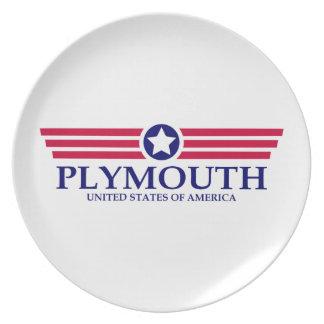 Orgullo de Plymouth Platos