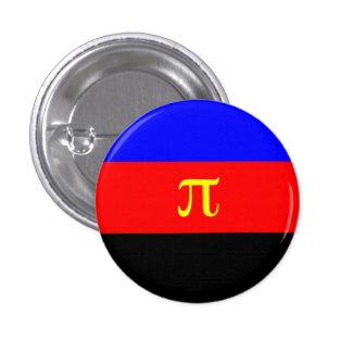 Orgullo de Polyamorous Pin Redondo De 1 Pulgada