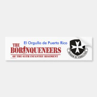 Orgullo de Puerto Rico - Bumper Sticker