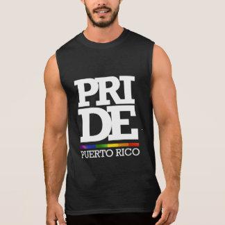ORGULLO DE PUERTO RICO -- .png Playera Sin Mangas