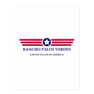 Orgullo de Rancho Palos Verdes Tarjetas Postales