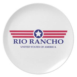 Orgullo de Río Rancho Platos Para Fiestas