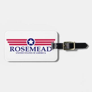 Orgullo de Rosemead Etiquetas Bolsa