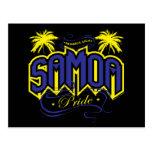 Orgullo de Samoa Tarjeta Postal