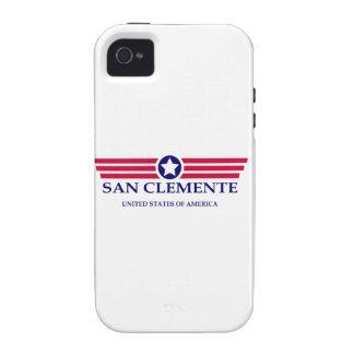 Orgullo de San Clemente iPhone 4 Fundas