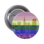 Orgullo de San Francisco Pin Redondo 5 Cm