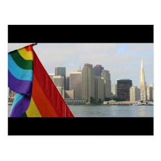 Orgullo de San Francisco Tarjetas Postales