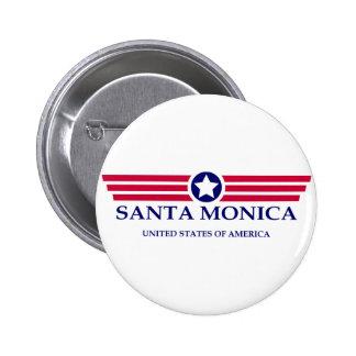 Orgullo de Santa Mónica Pin Redondo 5 Cm