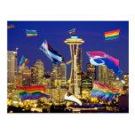 Orgullo de Seattle Tarjeta Postal