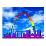 Orgullo de St. Louis GLBT Tarjeta Postal
