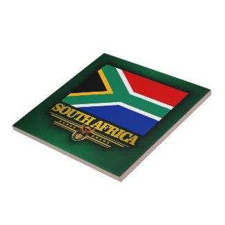 Orgullo de Suráfrica Azulejo Cuadrado Pequeño