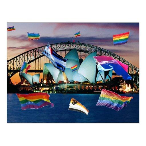 Orgullo de Sydney Postal
