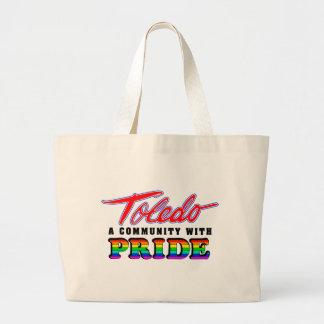 Orgullo de Toledo Bolsa Tela Grande