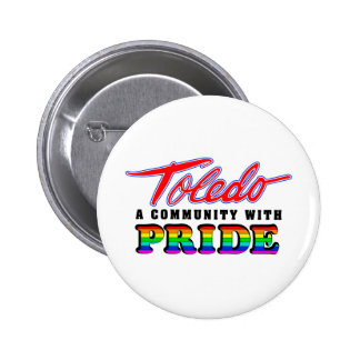 Orgullo de Toledo Pin Redondo 5 Cm