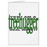 Orgullo de Treehugger Felicitaciones