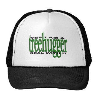 Orgullo de Treehugger Gorro De Camionero