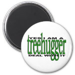 Orgullo de Treehugger Imán De Frigorífico