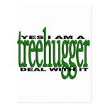Orgullo de Treehugger Postal