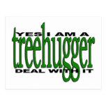 Orgullo de Treehugger Postales