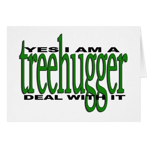 Orgullo de Treehugger Tarjetón