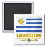 """""""Orgullo de Uruguay """" Imán Cuadrado"""