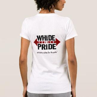 Orgullo de Whide - amortiguador para el Pushin Playera