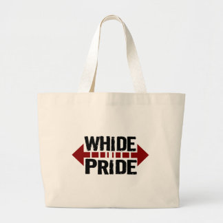 Orgullo de Whide - para los chicas grandes del n d Bolsa Tela Grande