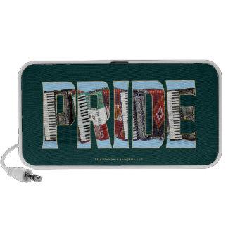 ORGULLO del acordeón iPod Altavoz