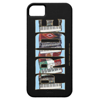 ORGULLO del acordeón iPhone 5 Case-Mate Coberturas