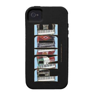 ORGULLO del acordeón Vibe iPhone 4 Carcasa
